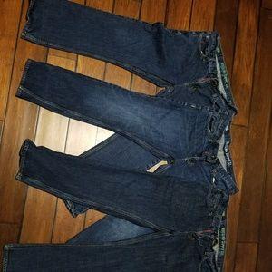 Mossimo 34x30 jeans bundle